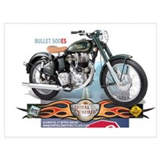 Bite the Bullet 500 ES Canvas Art