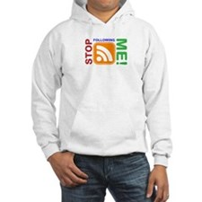 Stop Following Me! RSS Icon Hoodie