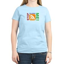 Stop Following Me! RSS Icon T-Shirt
