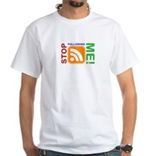 Stop Following Me! RSS Icon Shirt