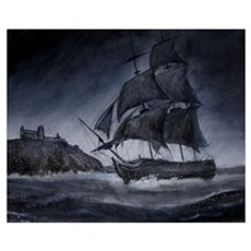 ghostly ship Poster