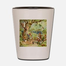 Gnomes, Elves & Forest Fairies Shot Glass