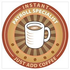 Instant Payroll Specialist Poster