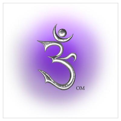 Meditation Om Poster