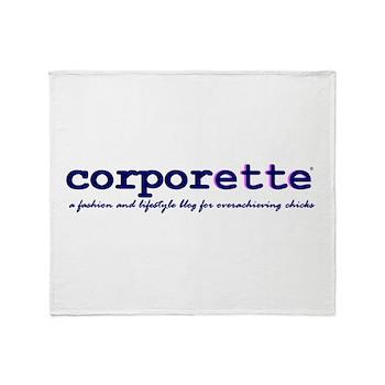 Corporette Throw Blanket