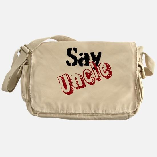Say Uncle Messenger Bag