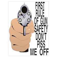 GUN SAFETY Poster