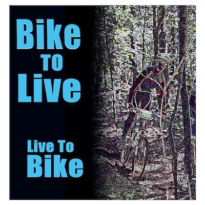 Bike to live, live to bike Poster