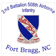 2nd Bn 508th ABN Poster