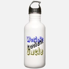 World's Coolest Uncle Water Bottle