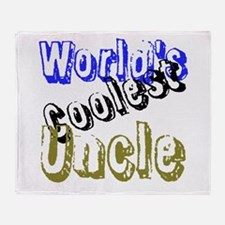 World's Coolest Uncle Throw Blanket