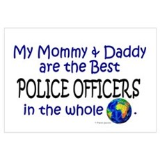 Best Police Officers In The World ri Canvas Art