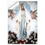 Blessed virgin mary Wall Decals