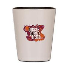 Cute Gobble gobble Shot Glass