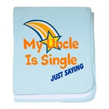 My Uncle Is Single, Just Sayi baby blanket