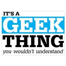Geek Thing Poster