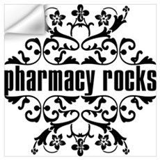 Pharmacy Rocks Wall Decal