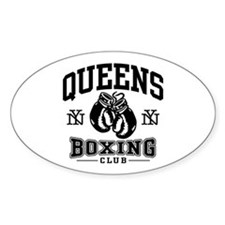 Queens Boxing Decal