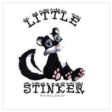 Little Stinker Canvas Art