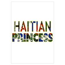 Funny Haitian flag Wall Art
