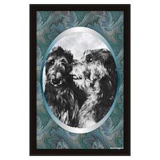 Scottish Deerhound Designer Poster