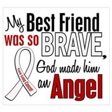 Angel 1 BEST FRIEND Lung Cancer Poster