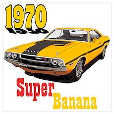 The Super Banana Poster