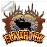 Elkaholic Wall Decals