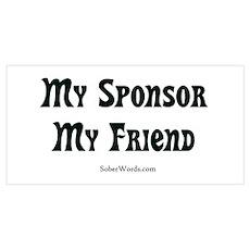 My Sponsor My Friend Poster