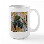 """""""Gondolier of Venice"""" Large Mug"""