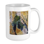 """Gondolier of Venice"" Large Mug"