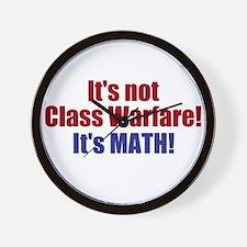 It's Not Class Warfare Wall Clock