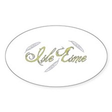 Isle Esme Feathers Decal