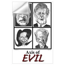 Axis of Evil Wall Decal