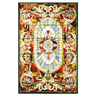 Tiffany Stained Glass Royal Splendor Poster