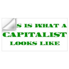 Capitalist Wall Decal