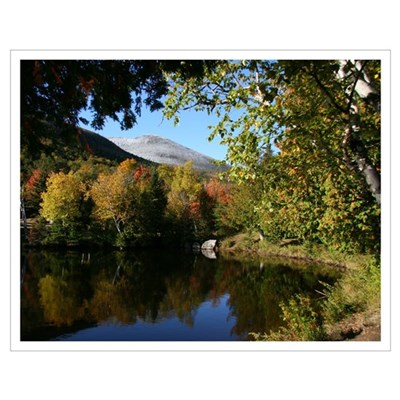 Whiteface pond Poster