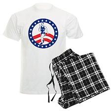 American Marathon runner Pajamas