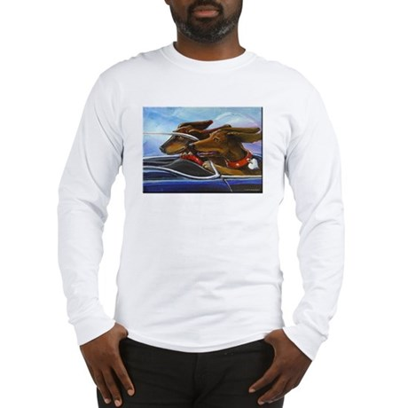 2 Dogs on a Roll Long Sleeve T-Shirt