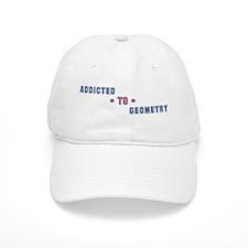 Addicted to Geometry Baseball Cap