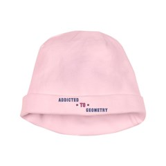 Addicted to Geometry baby hat