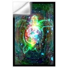 Cosmic Turtle Wall Decal