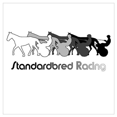 Racing Silhouette Canvas Art