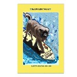 """Surfing Dog"" Postcards (Package of 8)"