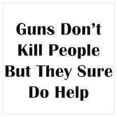 Guns Kill Poster