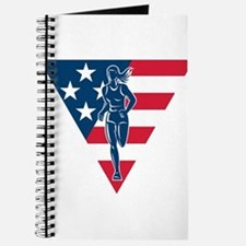 American Marathon runner Journal