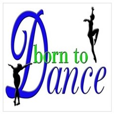 Born to Dance Canvas Art