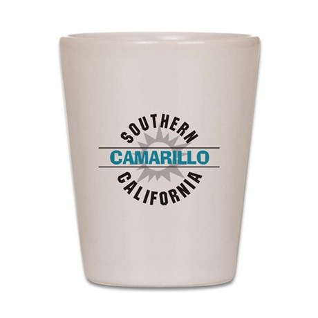 Camarillo California Shot Glass