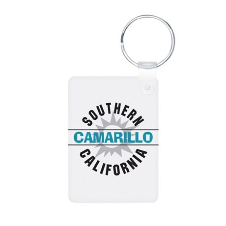 Camarillo California Aluminum Photo Keychain