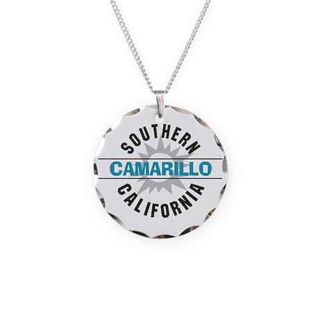 Camarillo California Necklace Circle Charm